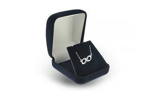 Jewellshouse Custom-Engraved Infinity Necklace at Jewellshouse, plus 6.0% Cash Back from Ebates.