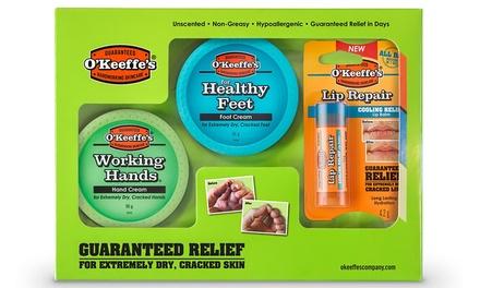 OKeeffes Skin Care Gift Set