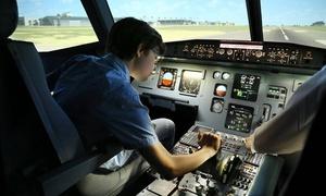 JetSim Flightsimulation & Flighttraining: 30, 60 od. 120 Min. Flugsimulator-Erlebnis im Airbus A320 beiJetSim Flightsimulation & Flighttraining (bis 30% sparen*)