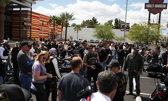 Xtreme Couture GI Foundation 8th Annual Motorcycle Poker Run May 21 - Las Vegas Harley Davidson: Randy Couture's GI Foundation Motorcycle Poker Run on Saturday, May 21, at 10 a.m.