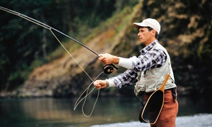 Fishermen's Spot: Semi-Private Fly-Casting Lesson or Private Fly-Casting Lesson with Flies at Fishermen's Spot (Up to 63% Off)