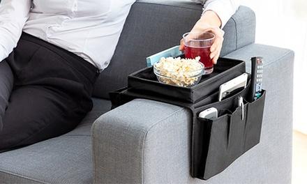 1, 2 o 3 organizadores de sofá con múltiples espacios de almacenamiento