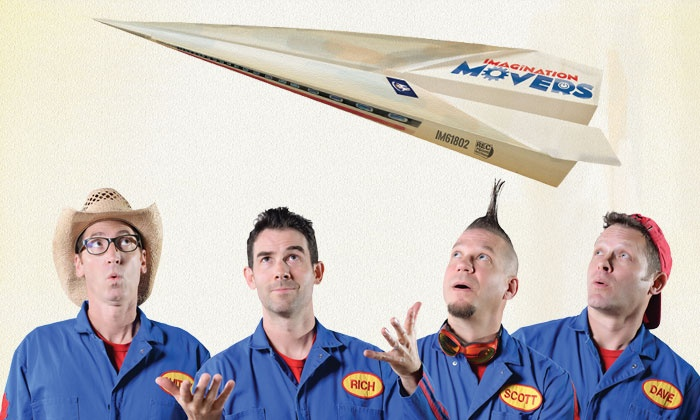 Imagination Movers - The Paramount Theatre - Huntington: Imagination Movers on March 13 at 4 p.m.