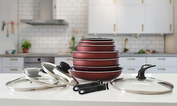 pradel premium batterie de cuisine groupon. Black Bedroom Furniture Sets. Home Design Ideas