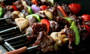 Restaurant Carre: Tapas- und Grill-Buffet mit Beilagen für zwei oder vier Personen im Restaurant Carre (bis zu 32% sparen*)