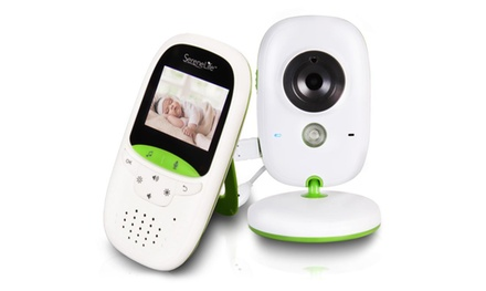 SereneLife Camera and Baby Monitor System with Built in Thermometer