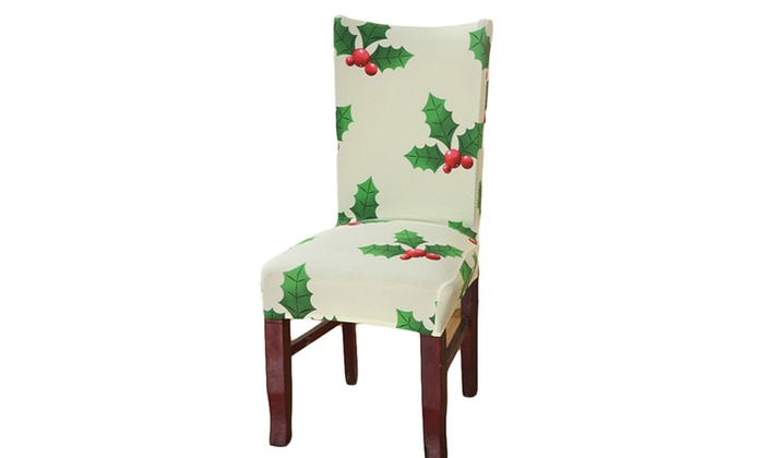 Fabulous Stretch Dining Chair Cover Groupon Ncnpc Chair Design For Home Ncnpcorg