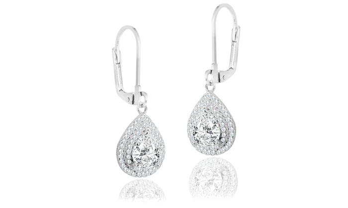 drops drop pin earrings crystal mikey number white product pear