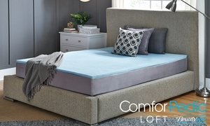 "ComforPedic Loft from Beautyrest 1"" Gel Memory Foam Mattress Topper"