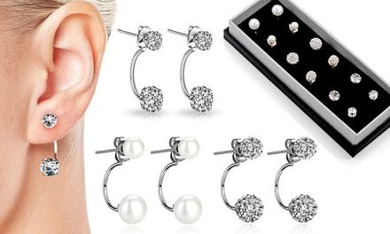 Philip Jones 3 Pairs of Earrings