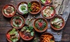 Leila Brasserie - Chiswick: Eight-Course Meze for Two or Sixteen-Course Meze for Four with Optional Wine at Leila Brasserie (Up to 61% Off)
