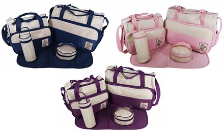 Five-Piece Baby Changing Bag Set