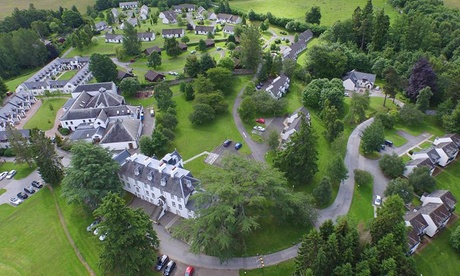 Perthshire: 1 or 2 Nights for Two with Breakfast, Spa Access and Option for 3-Course Dinner at 4* Moness House Hotel