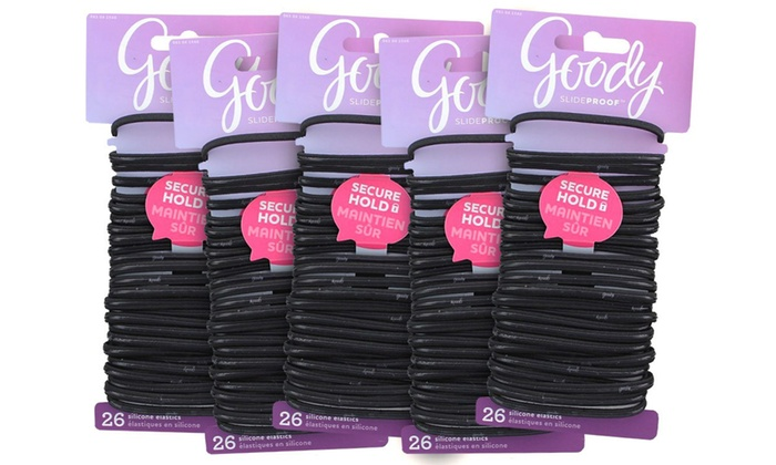 Up To 24 Off On Goody Hair Ties 130 Pack Livingsocial