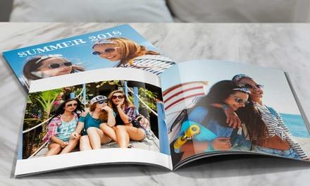 Fotoboek met zachte kaft in 20 x 20 cm of in A4formaat van Printerpix