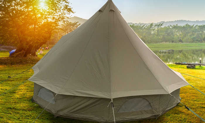 Premium Gl&ing Bell Tents & Premium Glamping Bell Tents | Groupon
