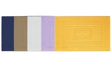 Tappeto e parure da bagno: Rosa / Tappeto - 60 x 90 cm