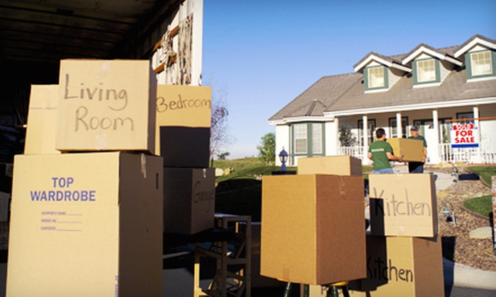 Here To There Movers - Blue Ash: Moving Services from Here To There Movers (Half Off). Two Options Available.