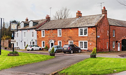 Cumbria: 1 Night For Two With Breakfast; or 2 or 3 Nights Plus Pimms and Lemonade or Prosecco at The 4* Kings Arms Hotel