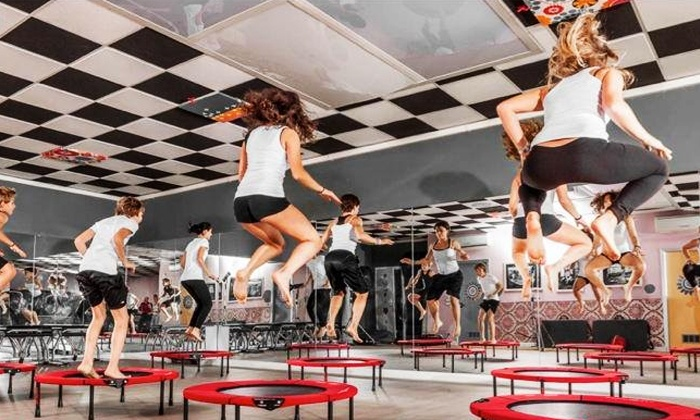 Spirit Bounce - West Hollywood: Three or Five Trampoline Fitness Classes at Spirit Bounce (Up to 56% Off)