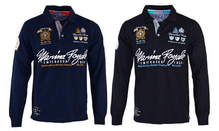 Polo Geographical Norway da uomo