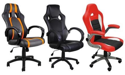 deuba padded office chair
