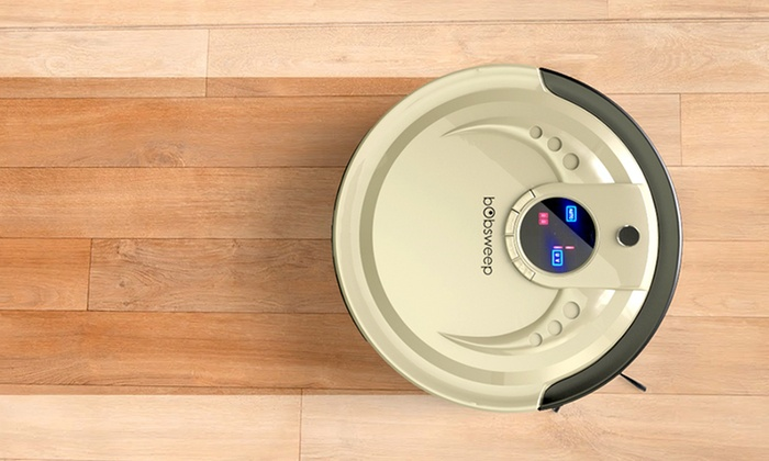 Groupon Goods: bObsweep Robotic Vacuum Cleaner and Mop (Delivery Included)
