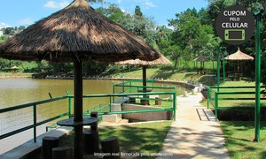 Pesqueiro Recanto Maravilha: Day use com pesca esportiva para 1 criança e/ou 1 adulto no Pesqueiro Recanto Maravilha – Santana de Parnaiba