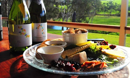 Sharing Plate, Wine, Tasting and Cherry Liqueur $35 or 4 $55 at Fleurieu Hills Vineyard Up to $128 Value