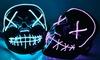Maschera con LED per Halloween