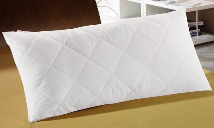 wellnessa mikrofaser kopfkissen groupon. Black Bedroom Furniture Sets. Home Design Ideas