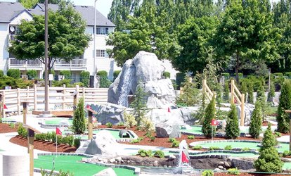 36% Off Mini Golf at Kent Valley Ice Centre