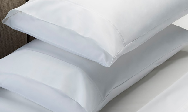 Royal Comfort 1000TC Cotton Rich Sheet Set + Two Duck Pillows: Single ($69), Double ($79), Queen ($85) or King ($89)