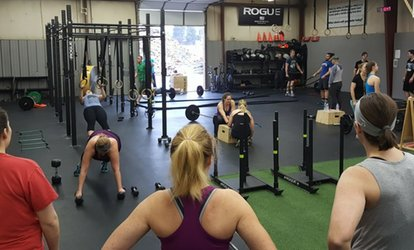 image for One Month of Unlimited CrossFit Classes at CrossFit Afton (79% Off)