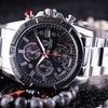 Montre quartz style chronographe