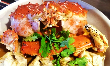 $295 for a Live Alaskan King Crab from Club July (worth $450). More Options Available