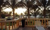 Sharjah: 5* Stay with Private Beach Access