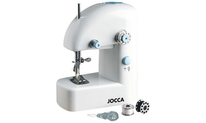 Macchina da cucire e kit cucito groupon goods for Macchina da cucire portatile prezzi