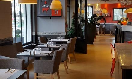 Entrée et plat pour 2 ou 4 convives dès 16,90 € au restaurant Assiette au bœuf