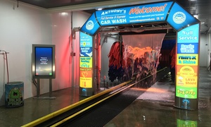 Up to 47% Off Car Washes at Anthony's Full Service & Express Car Wash, plus 6.0% Cash Back from Ebates.
