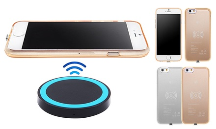 $19 for a Case with Wireless Charging Pad for iPhone 5/5S/6/6S/6 Plus/6S Plus
