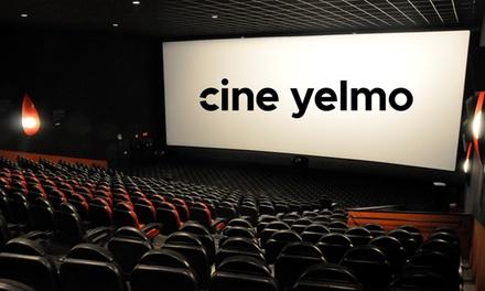 Entrada para Madrid, resto Península, Canarias o en cines Premium en Cines Yelmo (hasta 40% de descuento)