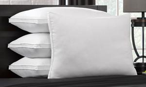 DownSupply Overstuffed Gel Fiber Pillows (1, 2, or 4-Pack)