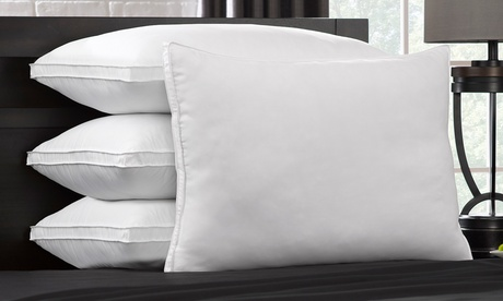 DownSupply Overstuffed Side and Back Sleeper Gel Fiber Pillows (1, 2, or 4-Pack)