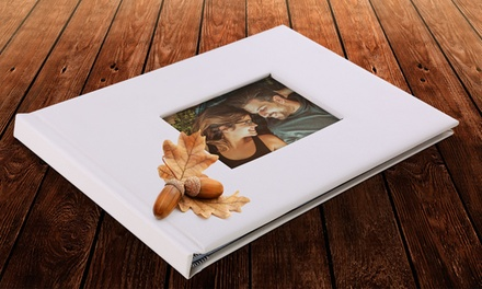 Leather Debossed Photo Books from Printerpix (Up to 90% Off). Six Options Available.