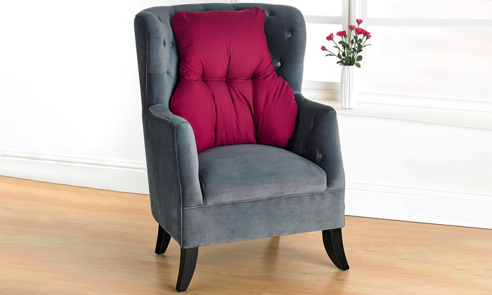 Slumba-Mate Microfibre Back Support Cushion in a Choice of Colour from £12