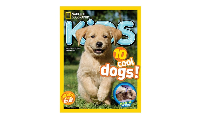 1-Year, 10-Issue Subscription to National Geographic Kids
