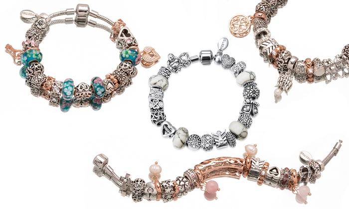 61c95ab54 Mestige Charm Bracelet | Groupon Goods