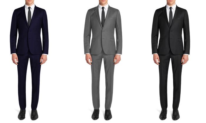 Fellini Uomo Men's Slim Fit Suits (2-Piece)