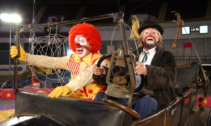 Garden Bros. Circus for Two Adults and Two Children on June 10 or 11